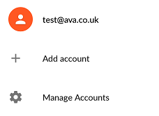 A Google Account complete