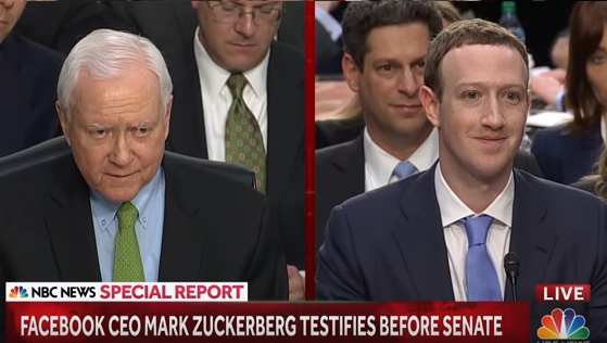 Senate And Zuckerberg